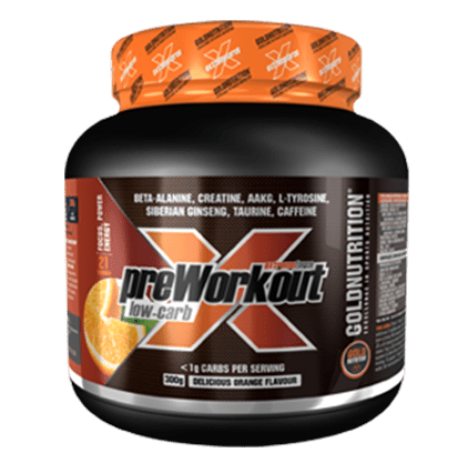 Pre-workout low carb 300g - Increase strength & anaerobic capcity - GoldNutrition Hong Kong