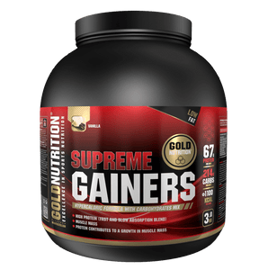 SUPREME GAINERS 3KG - MAX WEIGHT GAIN - GoldNutrition Hong Kong