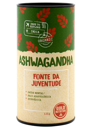 Ashwagandha 125g - Stress & Sleep - GoldNutrition Hong Kong