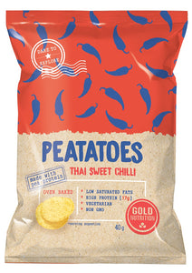 Peatatoes - Low fat high protein chips - 40g - GoldNutrition Hong Kong