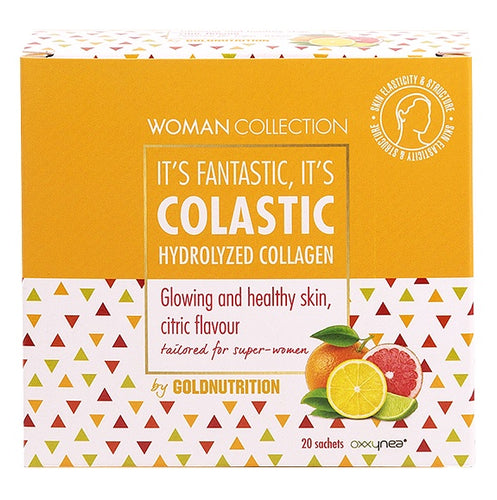 Colastic skin vitality - Hydrolyzed collagen - 20 sachets - GoldNutrition Hong Kong