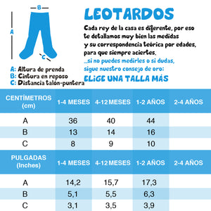 Leotardos 70% Rock Vs 30%Clasica