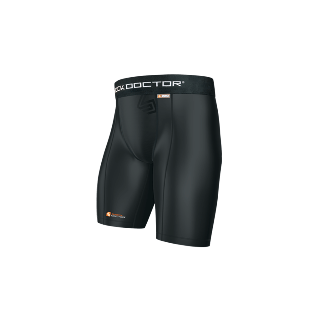 Shock Doctor Compression Short with Cup Pocket