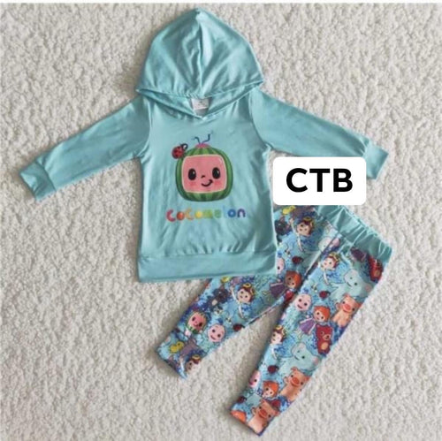 CoComelon Hooded Set