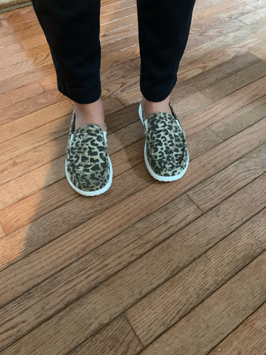 IN STOCK ITEM-Gypsy Leopard Slip ons