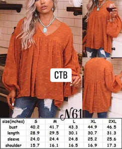 IR21 Fall Blouse