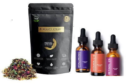 Facial Steam + Serum Bundle