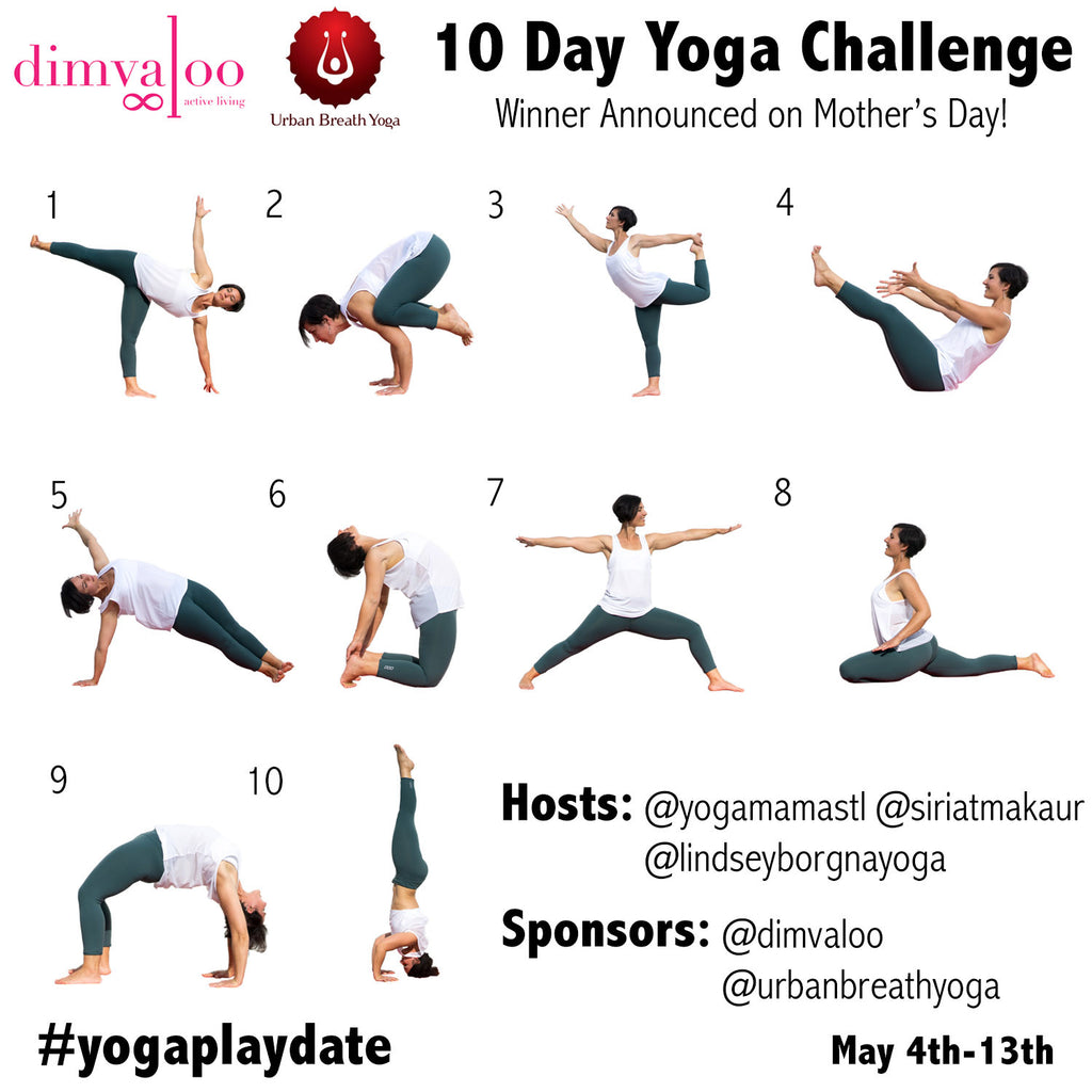 Our 1st Instagram yoga challenge! - Want to play?