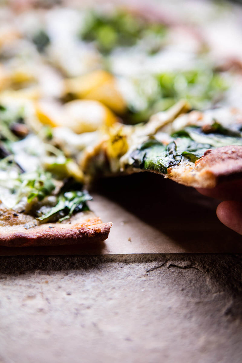 #FoodieFriday- Whole Wheat Spinach and Artichoke Pizza