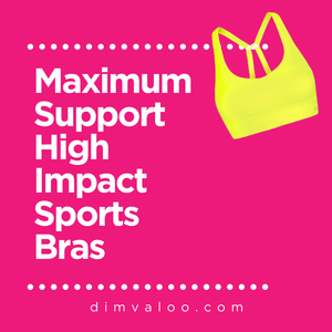 All High Impact, Maximum Support Sports Bras