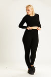 Rib Knit Legging - Final Sale - Final Sale