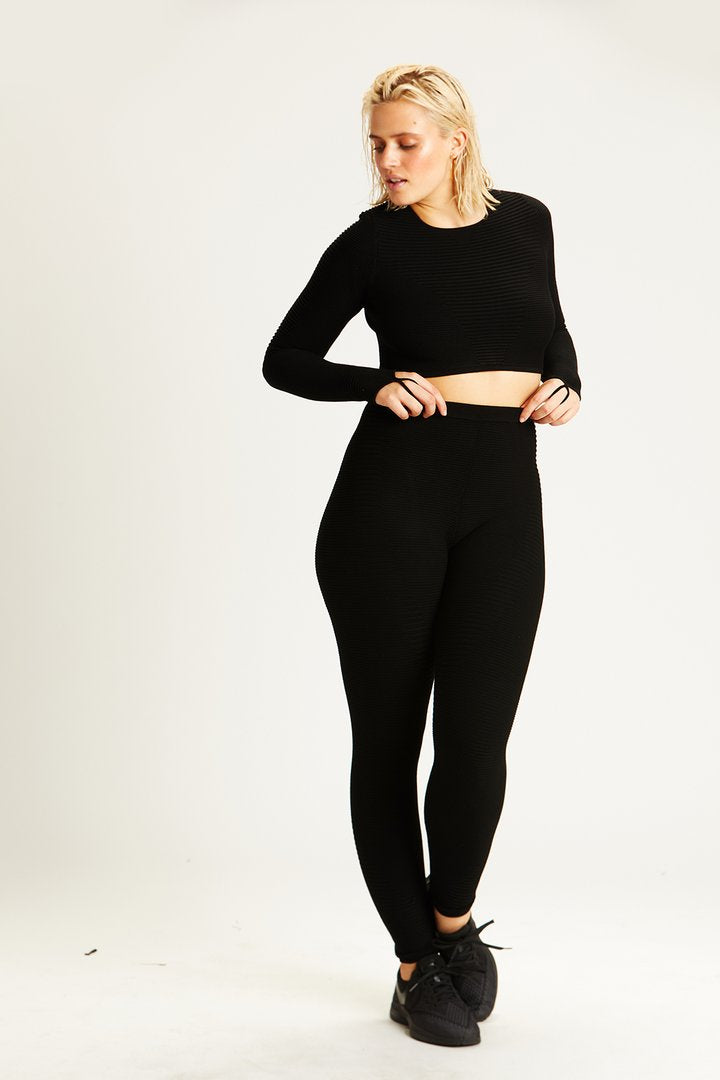 Rib Knit Legging - Final Sale