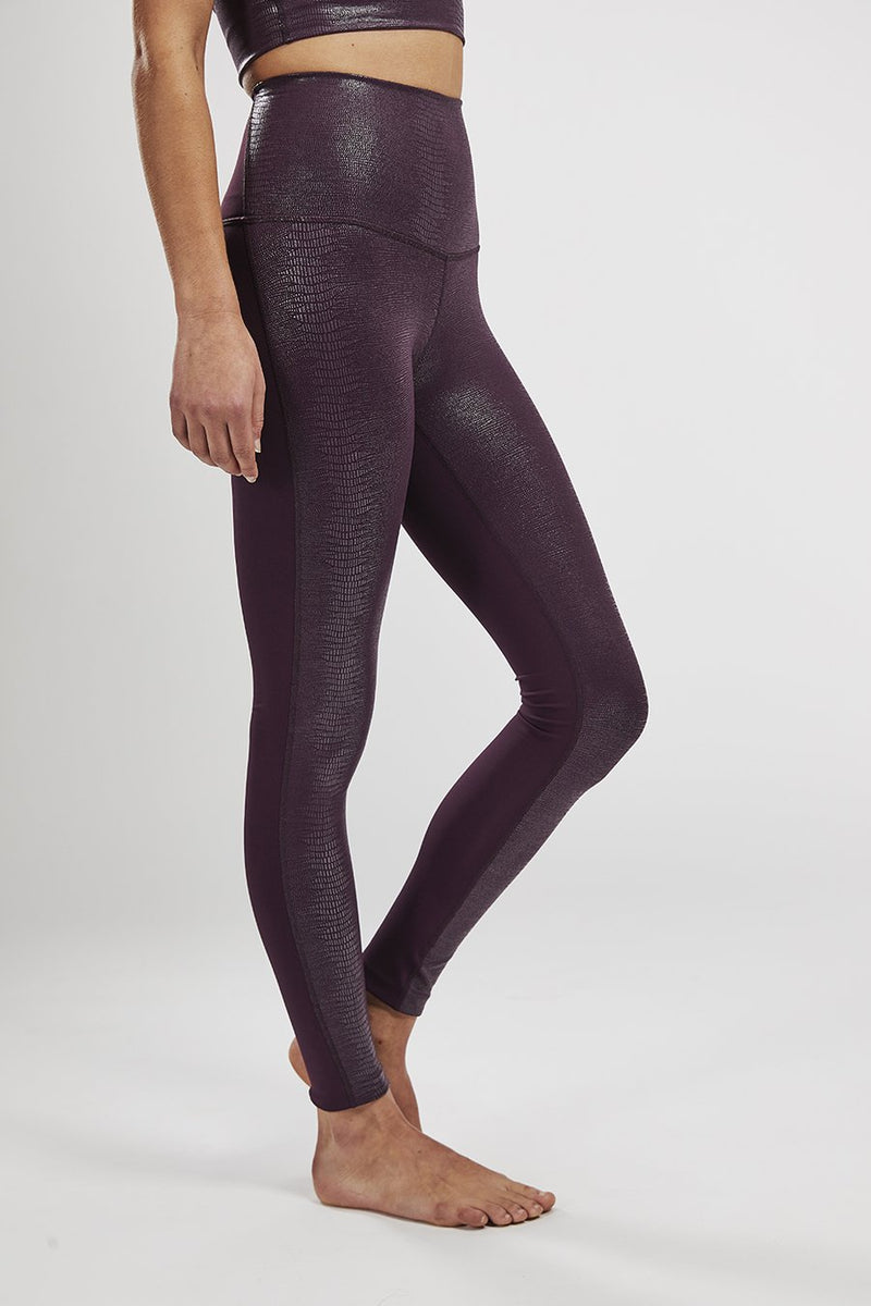 Movement Tight Burgundy Reptile Foil - Final Sale - Final Sale