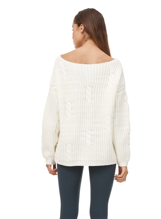 Cream Mylo Knit - Final Sale - Final Sale