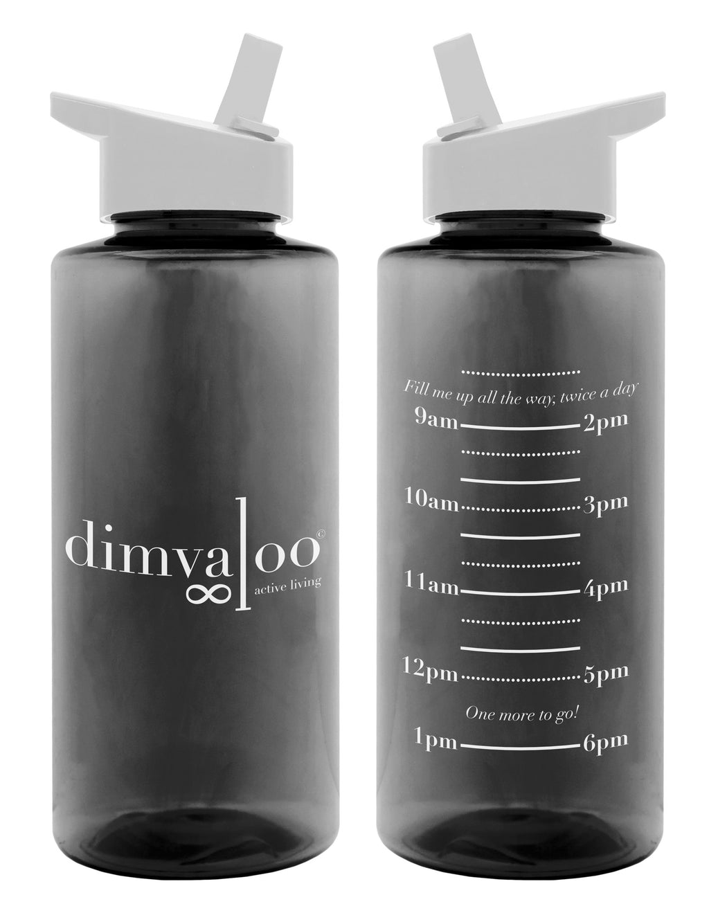 Dimvaloo Stay Hydrated Waterbottle - Final Sale - Final Sale