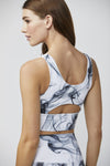 Elevate Bra - Smoke Print