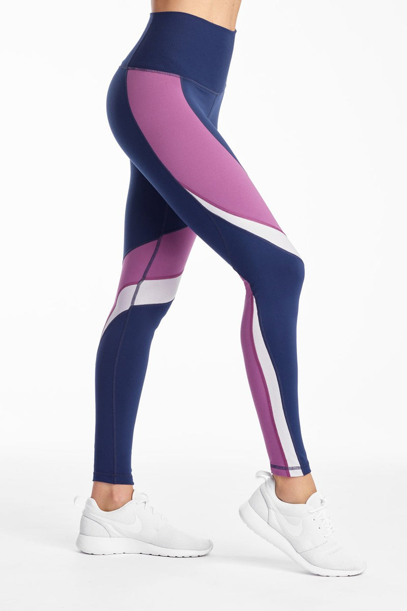 Heather Mix Tight - Navy Crocus Heather