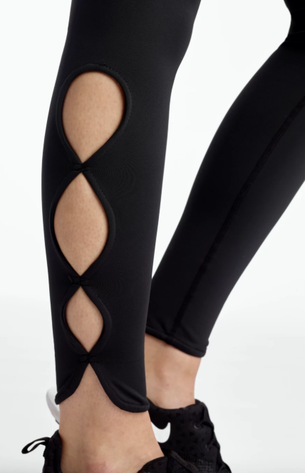 Cutout Crop Tight - Final Sale - Final Sale