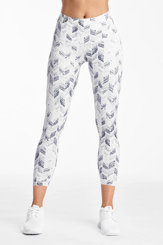 Printed Signature Tights - Bandana Paisely