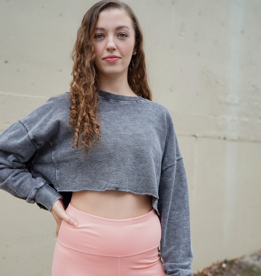 Dimvaloo Cropped Pullover - Final Sale