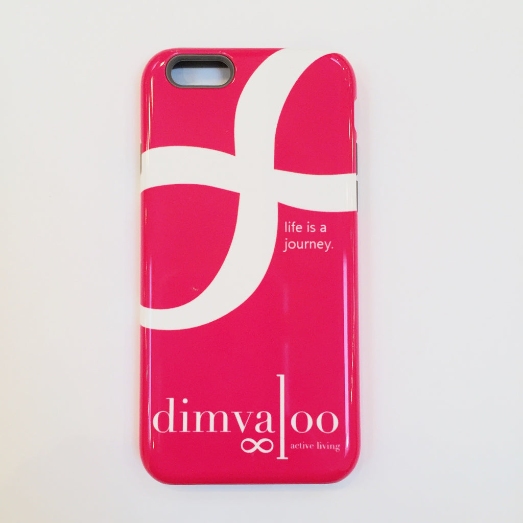 Dimvaloo 'Life Is A Journey' Iphone 6 case
