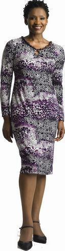 Milano Purple Pullover Dress