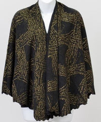 Metallic Print Shawl