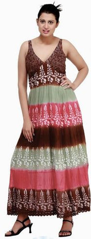 India Boutique 11108 Tie Dye Dress