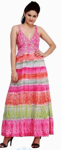 India Boutique 11103 Tie Dye Dress