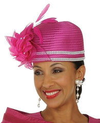 GMI-4462H ChurchHat in Magenta