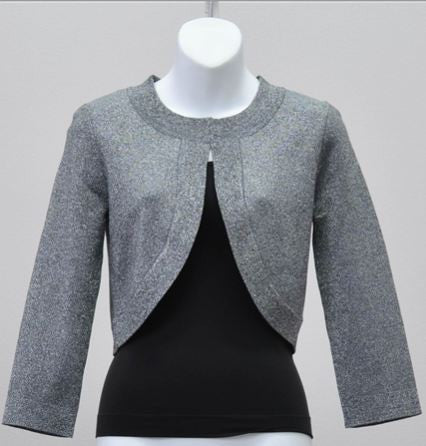 Spense S28930 Sparkle Knit Cardigan Shrug