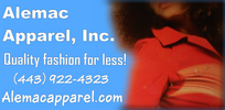 Alemac Apparel, Inc.