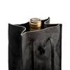 Leather Wine Tote in Nero - Peter Nappi - 2