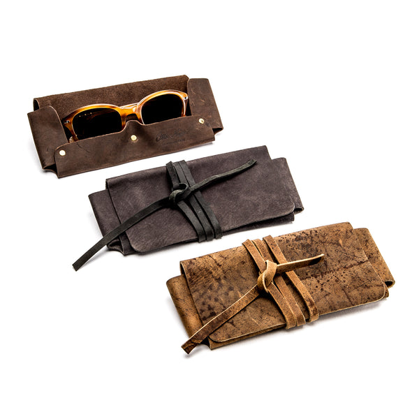 Leather Glasses Case - Peter Nappi - 1