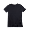 Men's Short Sleeve T-Shirt Cashmere Blend - Black