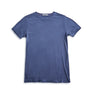 Men's Short Sleeve T-Shirt Cashmere Blend - Dark Grey