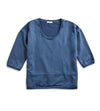 Women's U-Neck Fleece - Blue