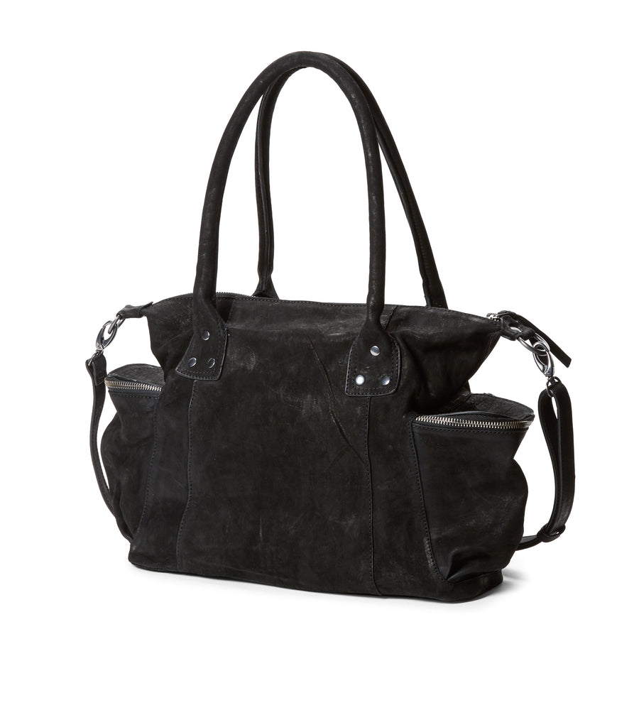 Luna Handbag in Nero