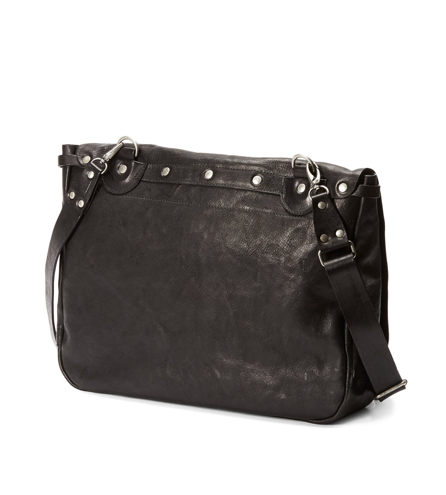 Messenger Bag in Nero