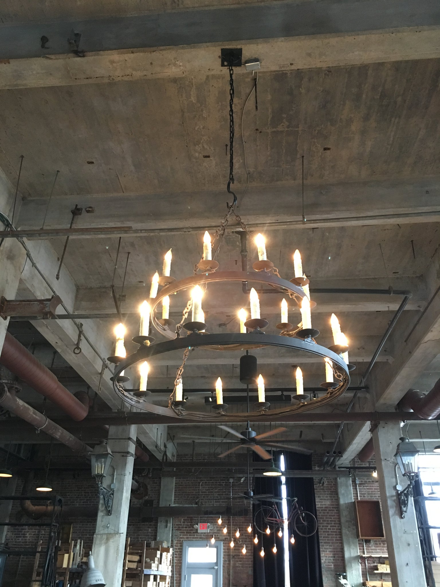 Two-Tier Chandelier
