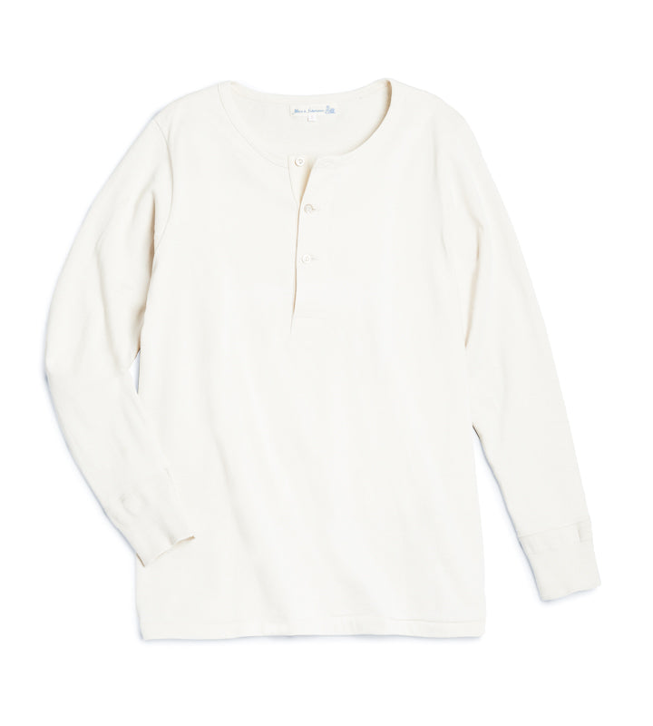 Merz b. Schwanen Henley Long Sleeve Nature