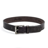 Nero Belt with Brushed Nickel Buckle - Peter Nappi - 3