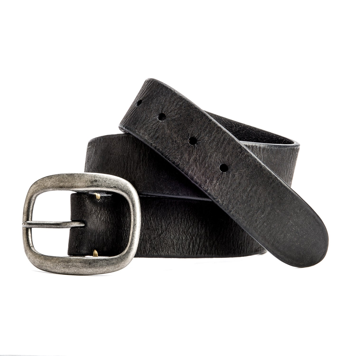 Nero Belt with Oval Buckle - Peter Nappi - 2