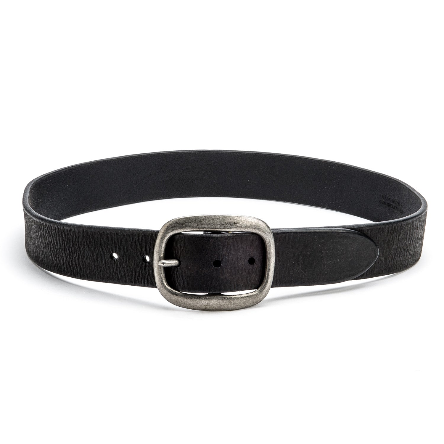 Nero Belt with Oval Buckle - Peter Nappi - 3