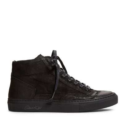 High Top Women's Sneaker in Black