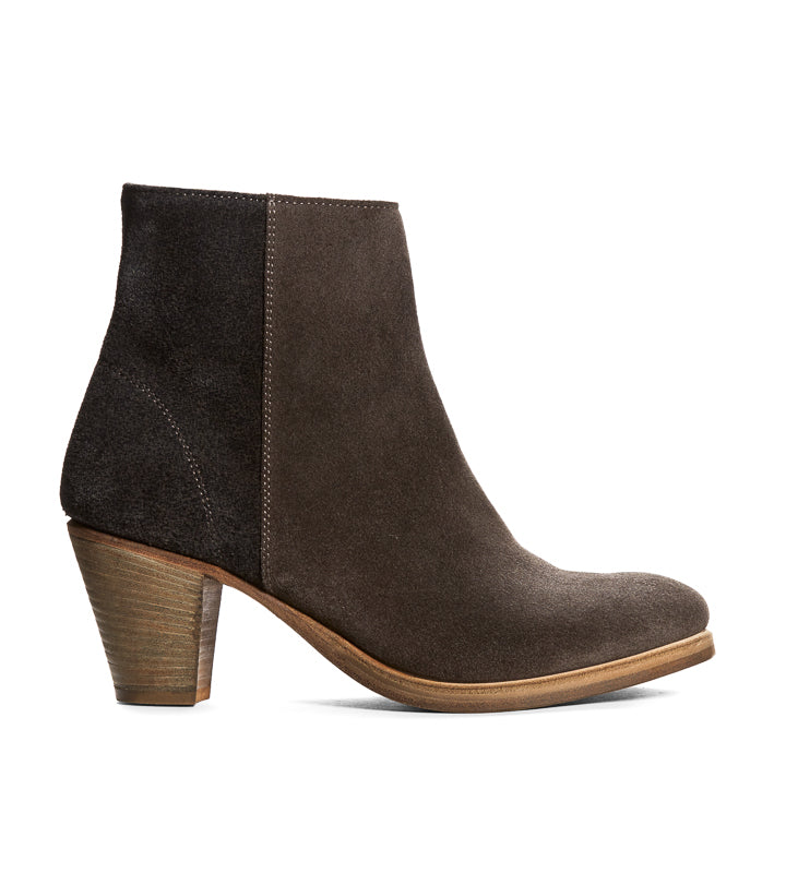 Gabrielle Bootie in Charcoal