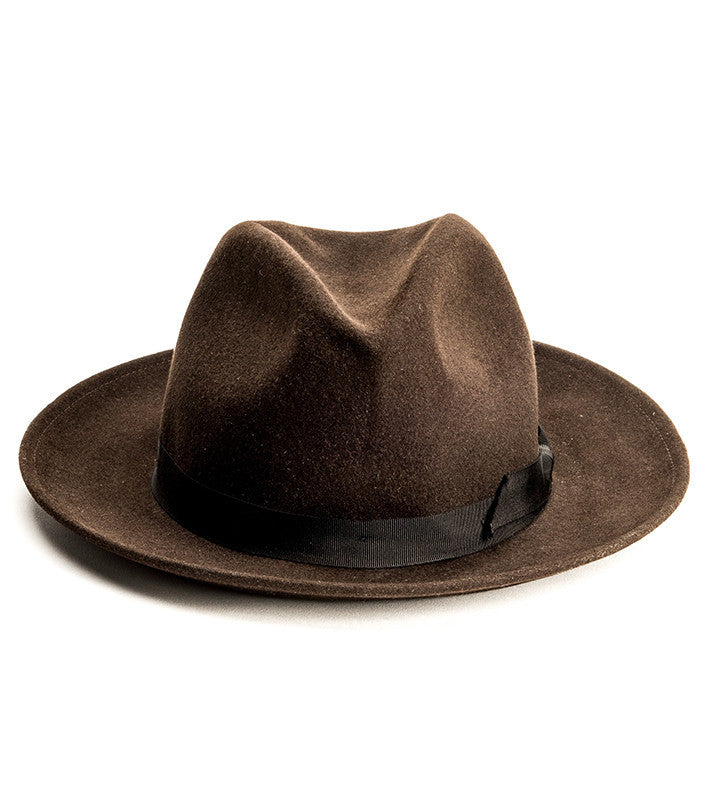 Hobo Hat - Dark Brown