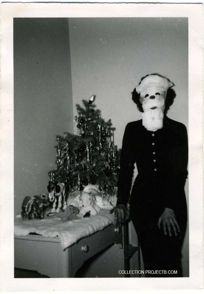 10 Funny and Strange Vintage Christmas Photos! - PROJECT B - Vintage ...