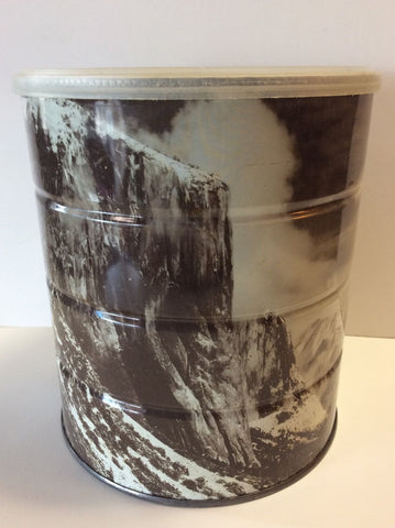 "Ansel Adams ""Winter Morning Yosemite Valley"" Coffee Can"