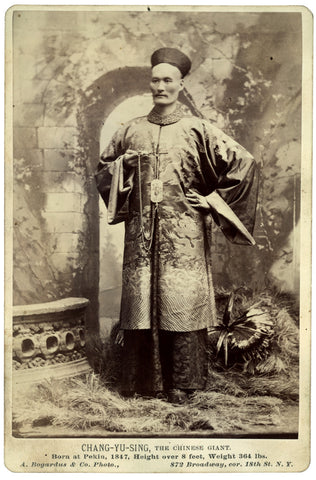 Chang Yu Sing, The Chinese Giant